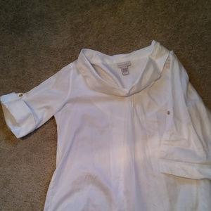 Women's Soft Surrounding blouse size L.